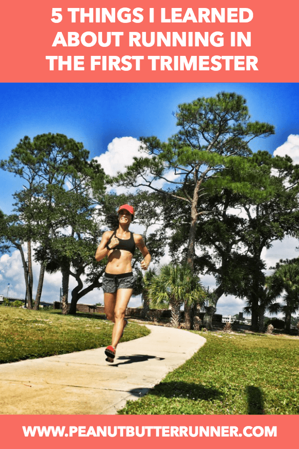 5 Things I Learned About Running In My First Trimester