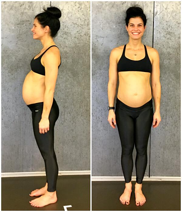 29 weeks pregnant belly