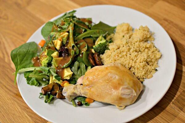 Rotisserie Chicken Dinner