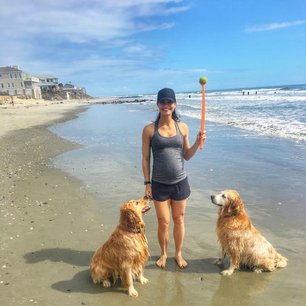 Folly Beach with Dogs