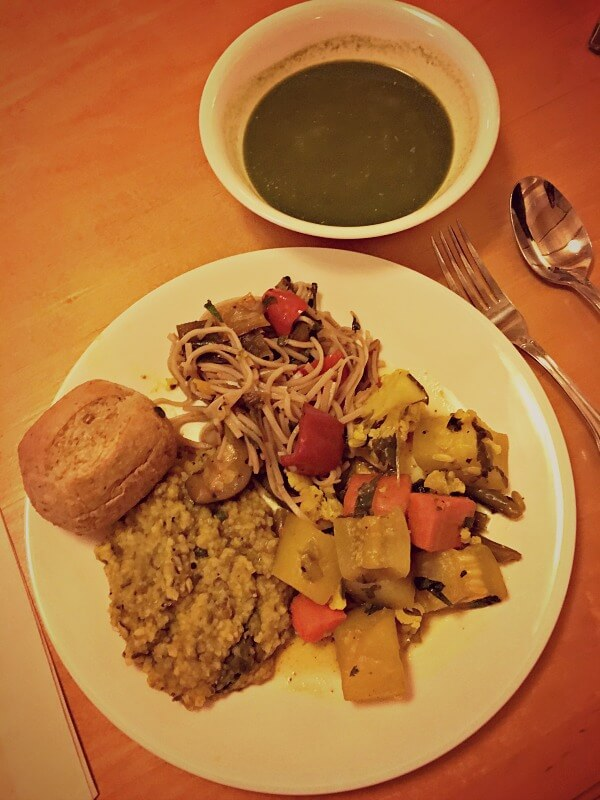 The Art of Living Retreat Center Food