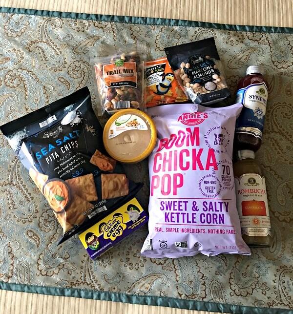 Hotel Room Snacks from ALDI