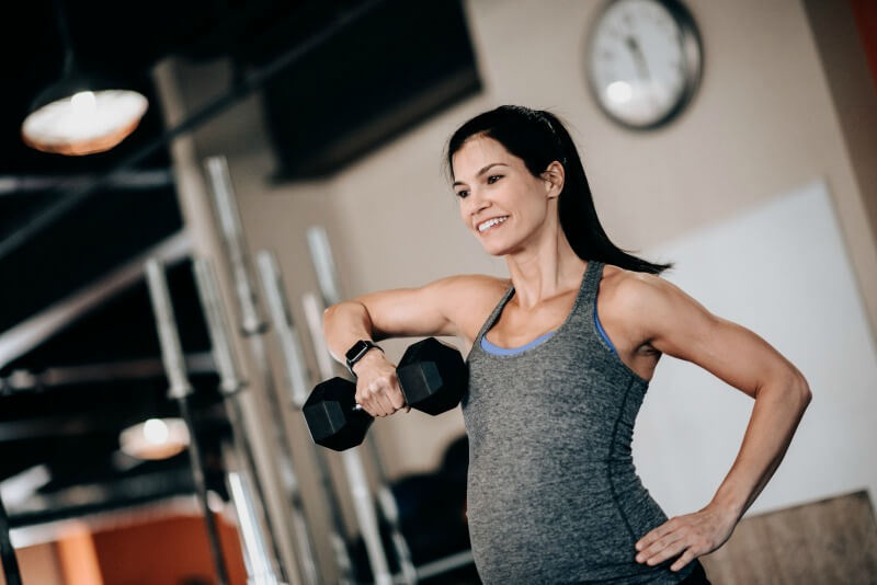Full-Body, Compound Movement Dumbbell Workout