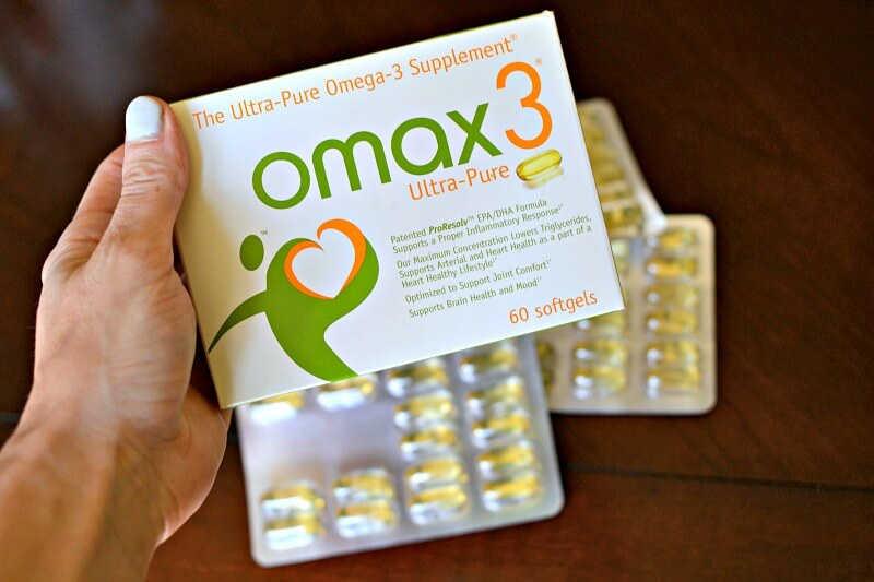 Omax Omega-3 Supplement