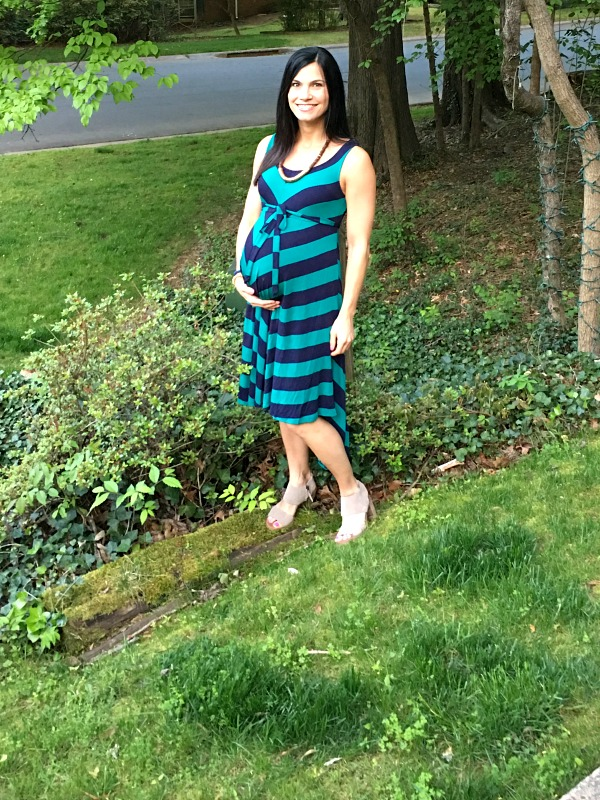 38 weeks pregnant dress