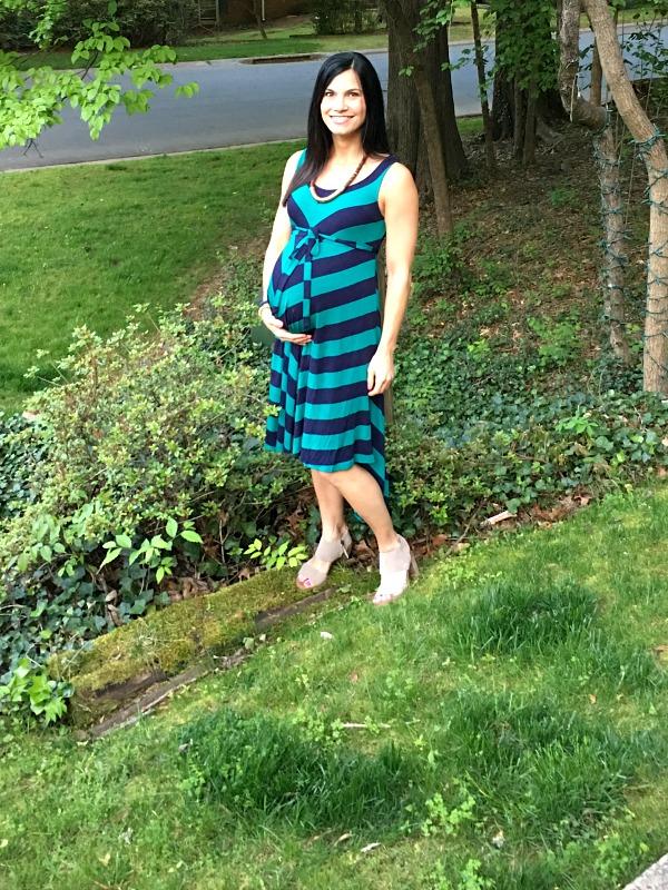 38 weeks pregnant dress