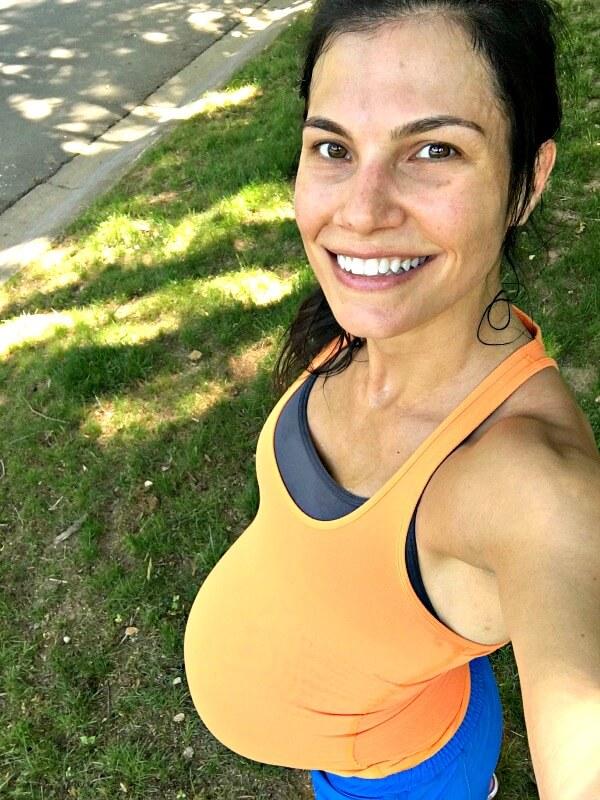 40 weeks pregnant walk