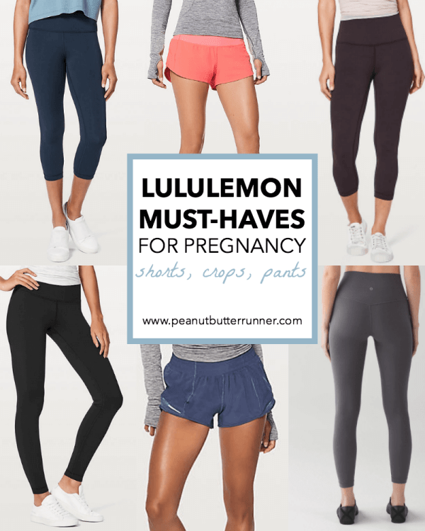 d0c1fcbbfb MY LULULEMON MUST-HAVES FOR PREGNANCY  SHORTS
