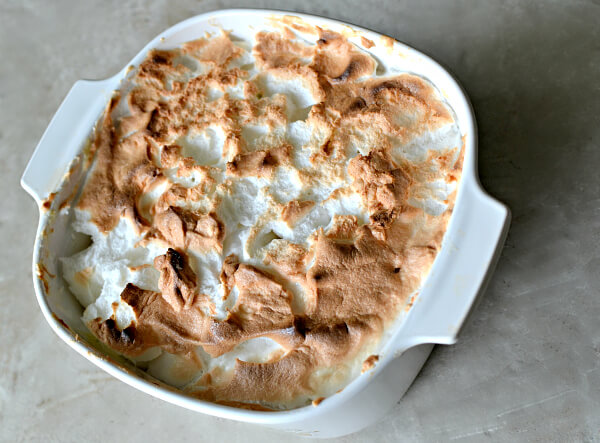 Homemade Banana Pudding