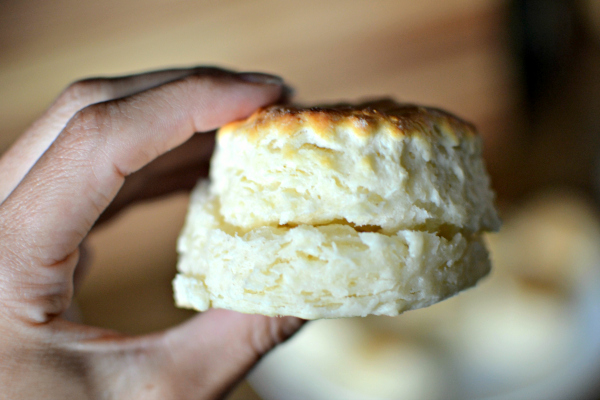 Three-Ingredient Buttermilk Biscuits