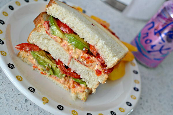 pimento cheese sandwich