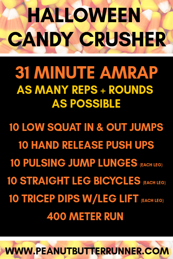 Halloween Candy Crusher Bodyweight Workout