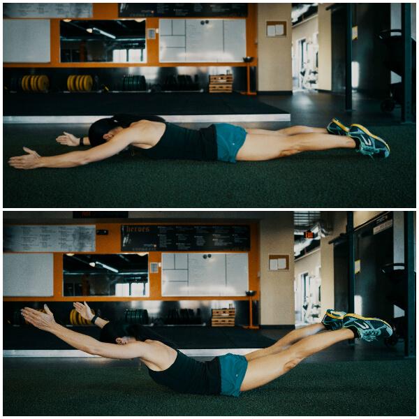 supermans core exercise