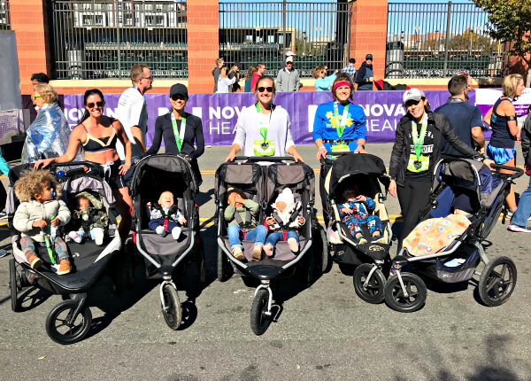Charlotte marathon relay - Stroller Moms
