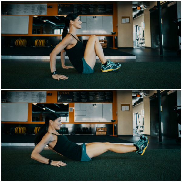 in and out core exercise