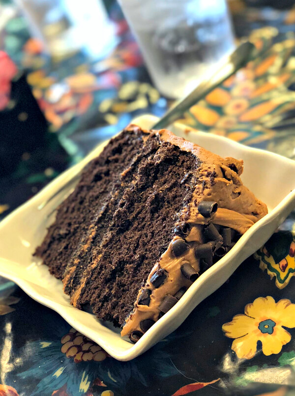 chocolate velvet cake