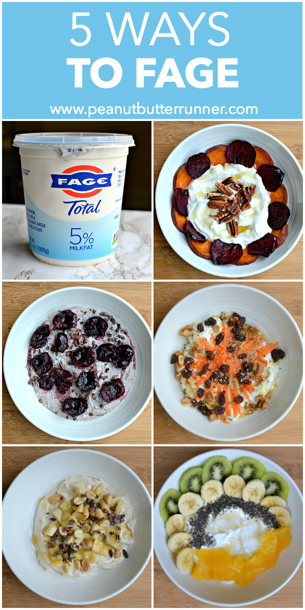 FAGE Greek Yogurt Bowls