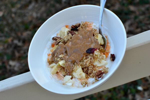 Greek Yogurt and Sweet Potato Bowl