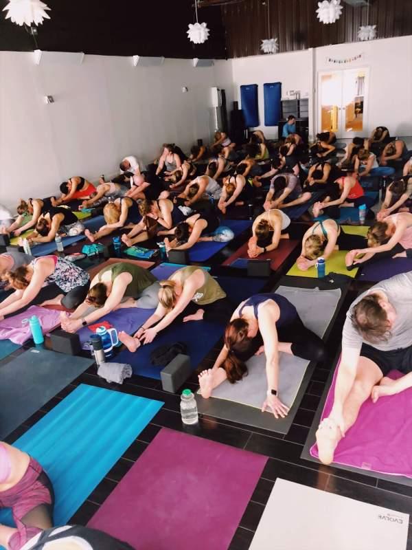 yoga on chocolate studio b power yoga