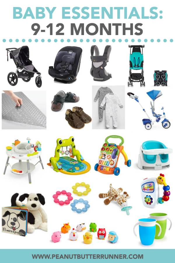 9-12 Month Baby Essentials