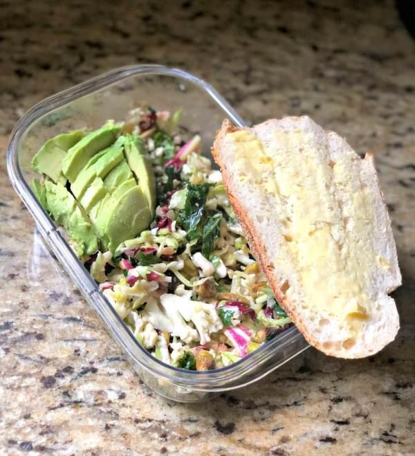 Trader Joe's Veggies + Greens Salad Kit