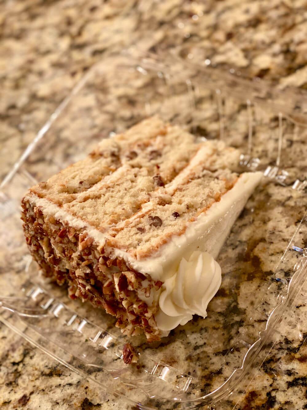 villani's bakery Italian cream cake