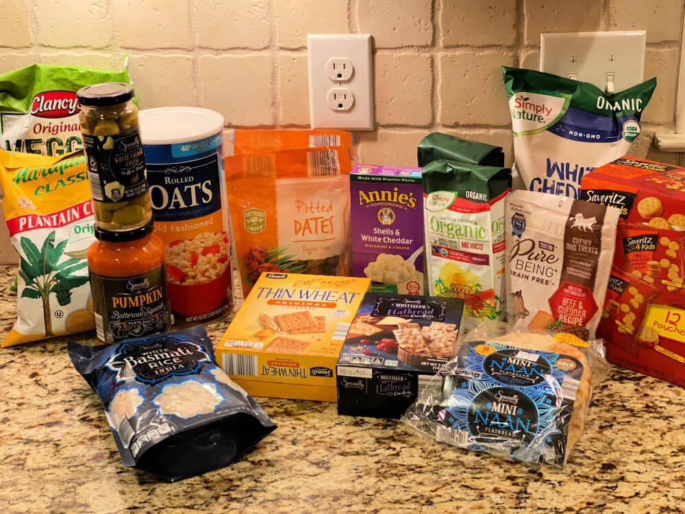 Aldi grocery haul