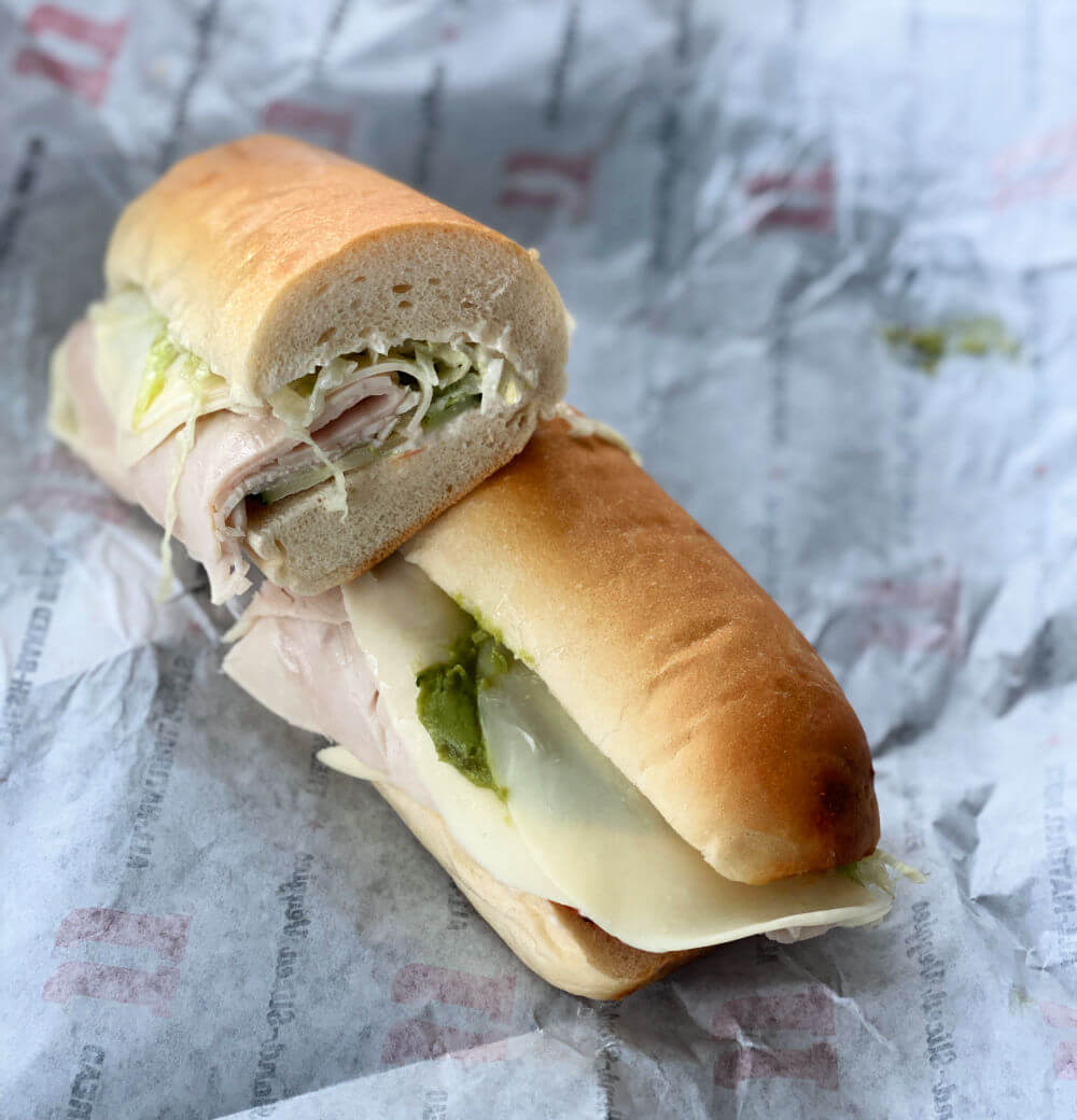 jimmy johns turkey sub