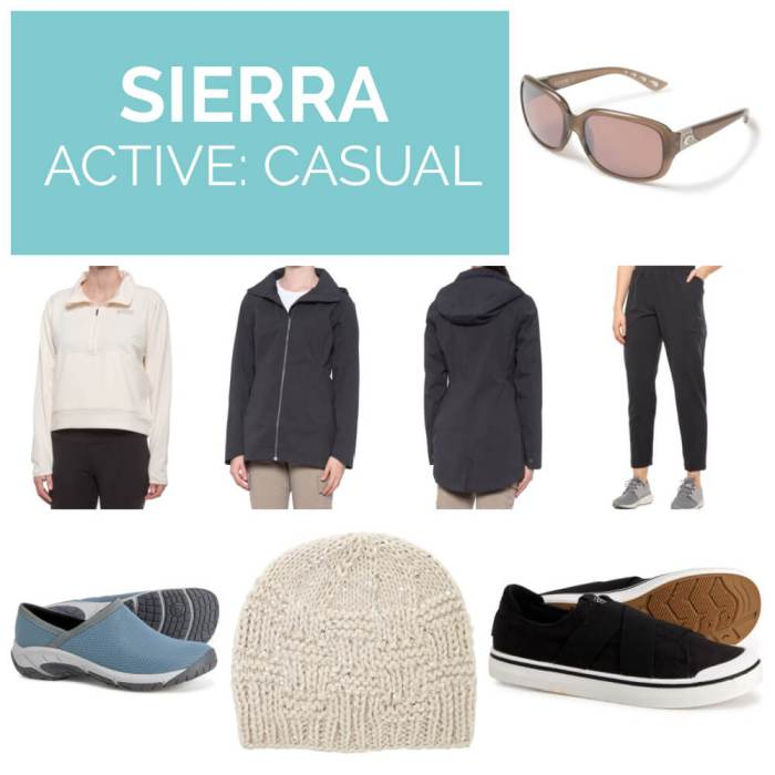 Sierra active casual