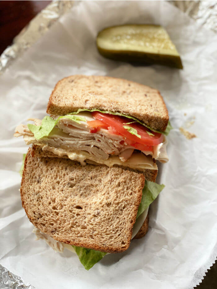 deli turkey sandwich