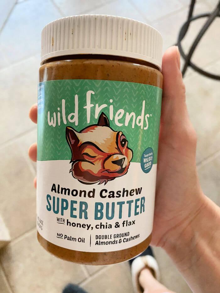wild friends almond cashew super butter
