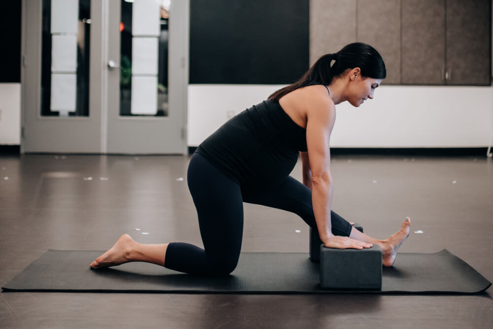 power yoga pregnant