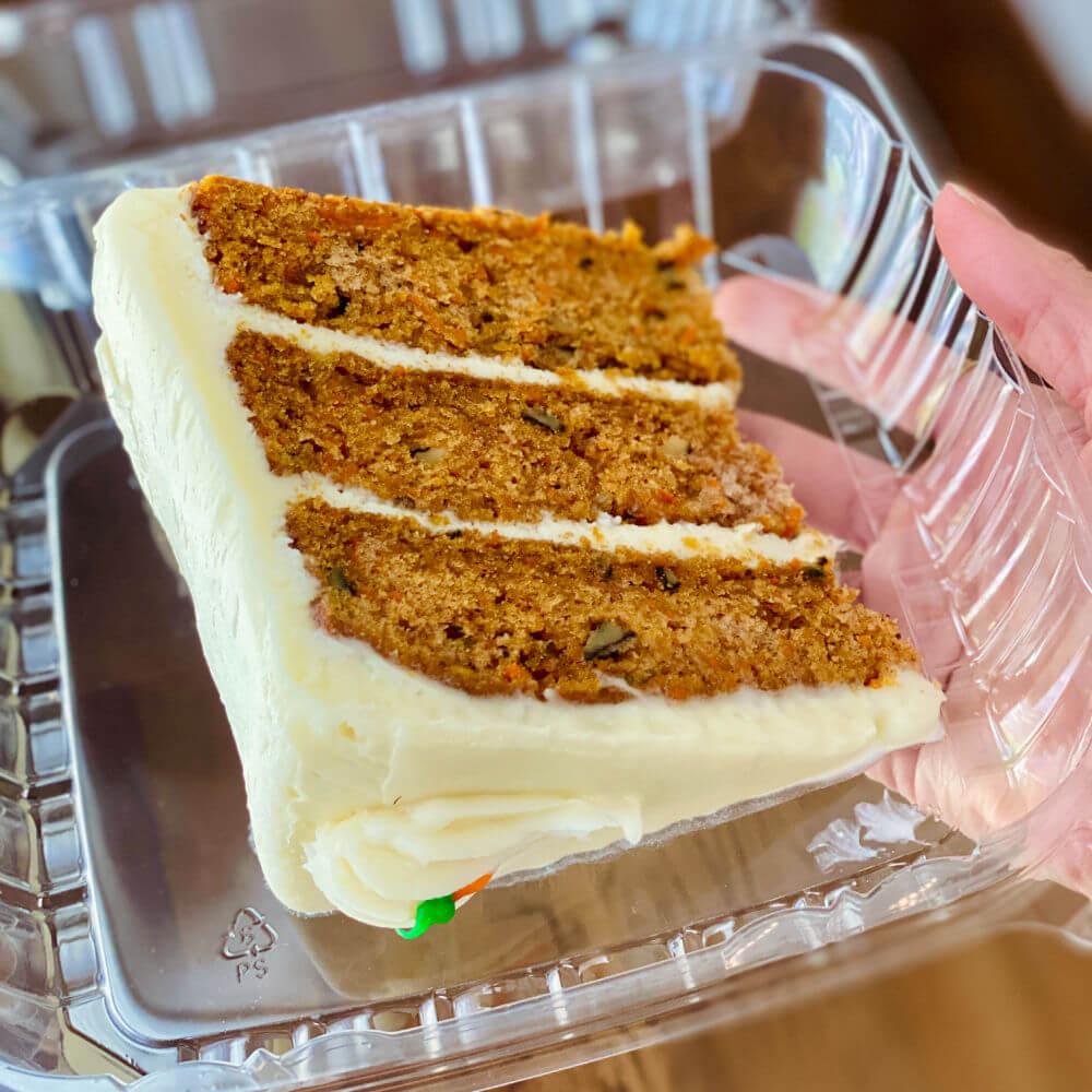 villani's carrot cake Charlotte