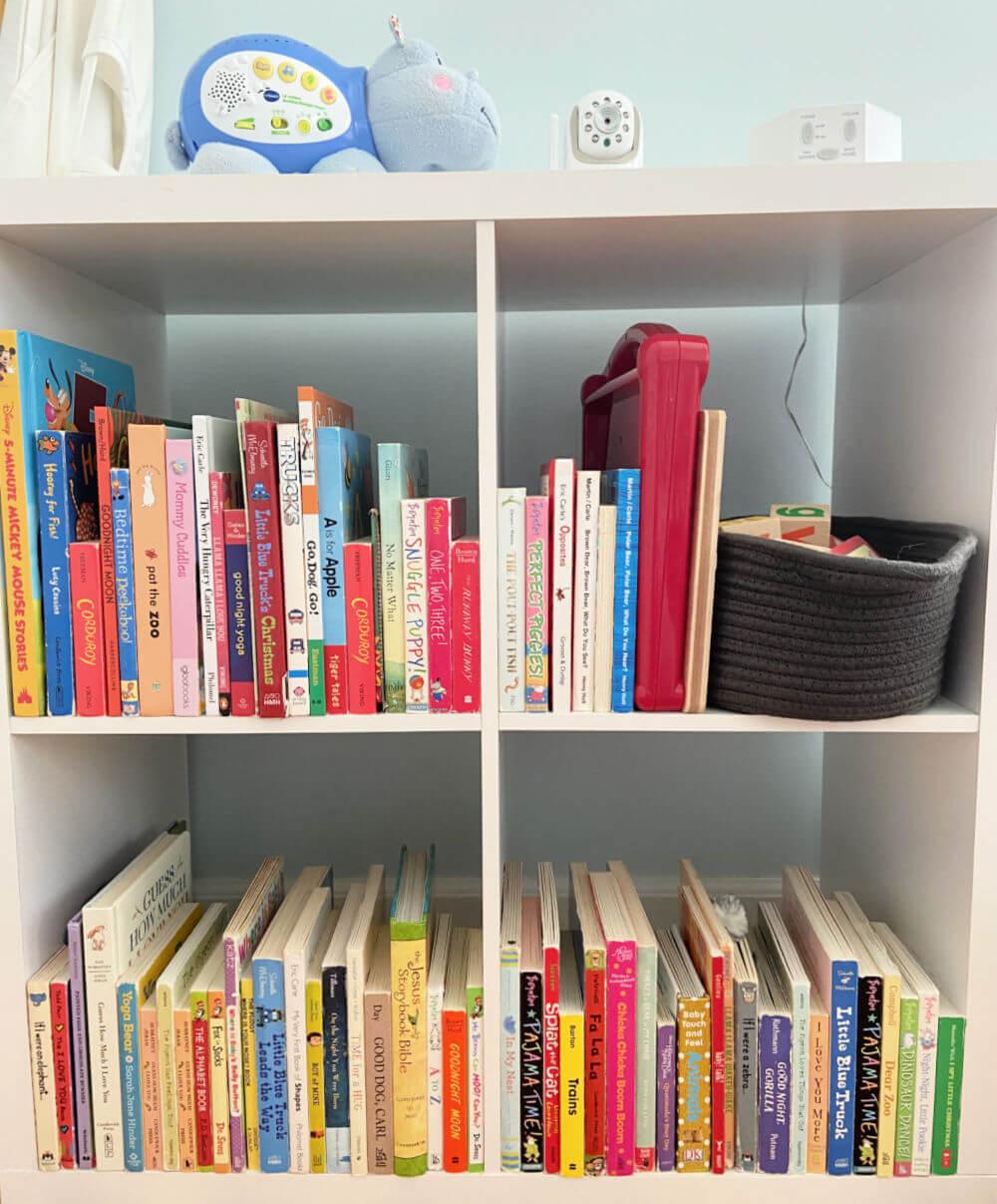 2 year old bookshelf