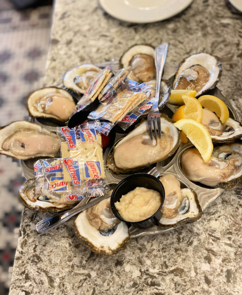 gulf oysters New Orleans