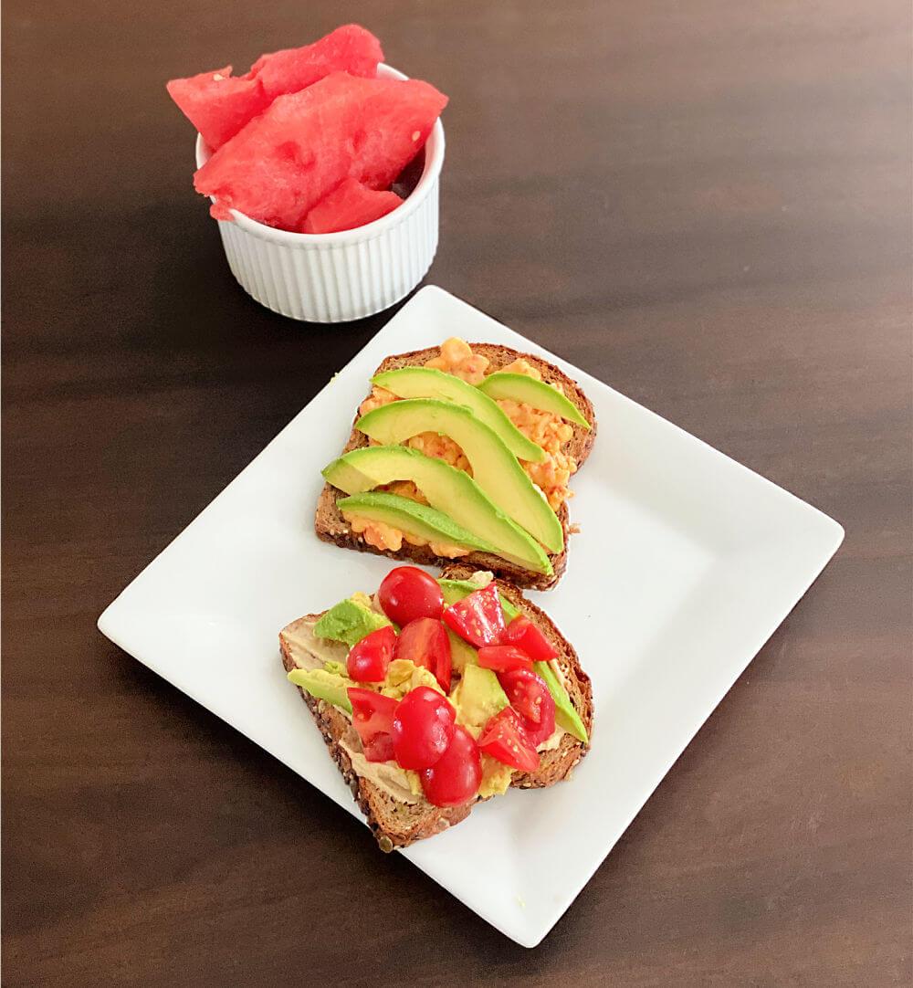 avocado toast combinations