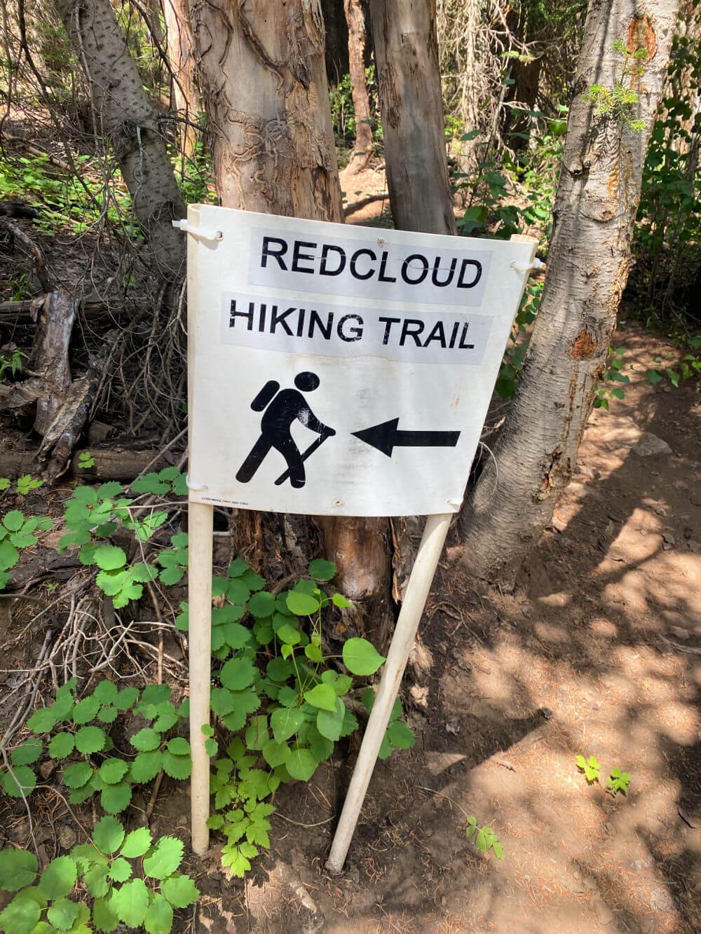 red cloud hiking trail deer valley