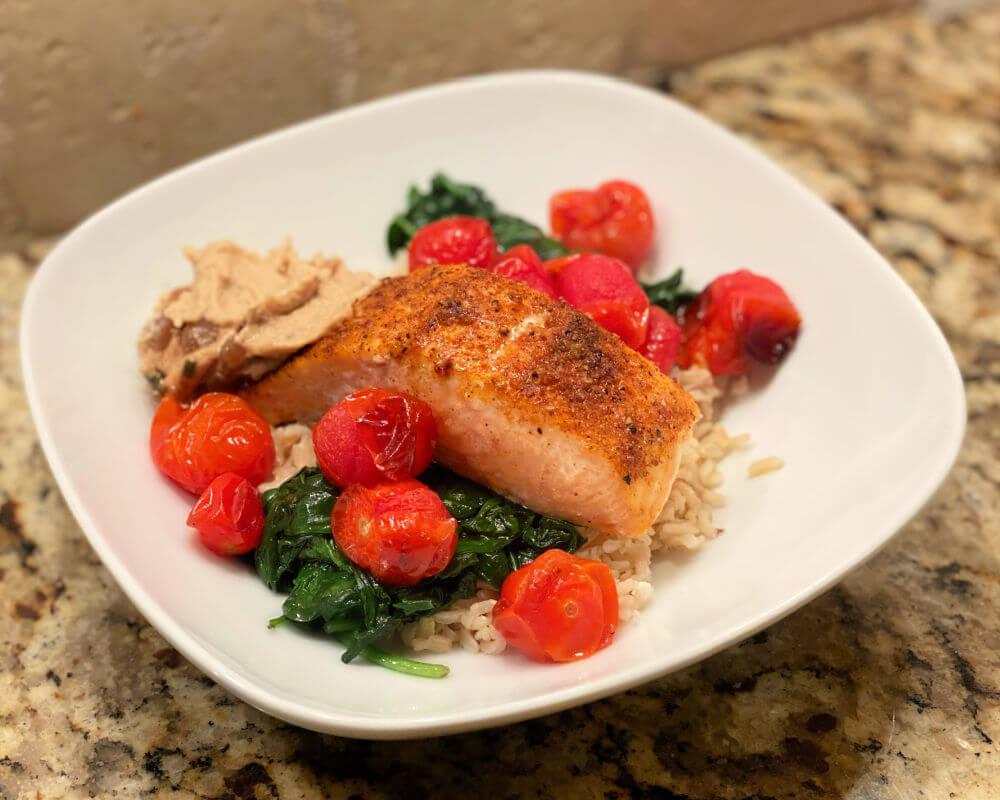 air roasted salmon ninja foodi oven