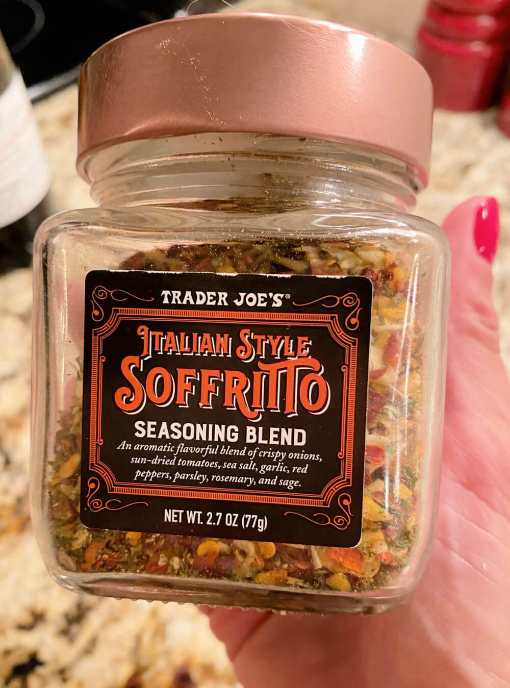 Trader Joe's soffritto seasoning