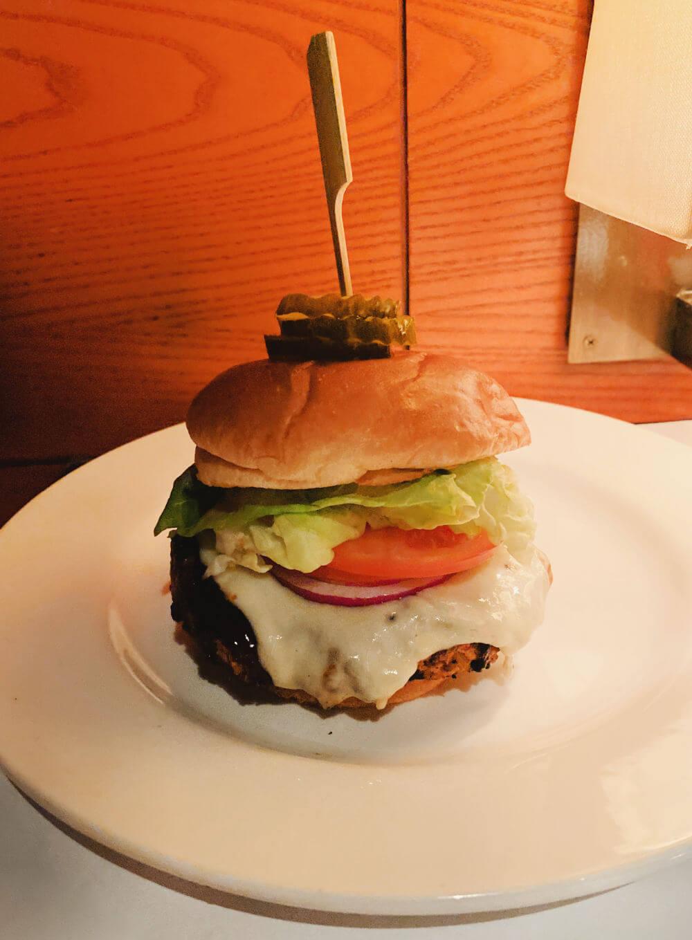 bricktop's veggie burger