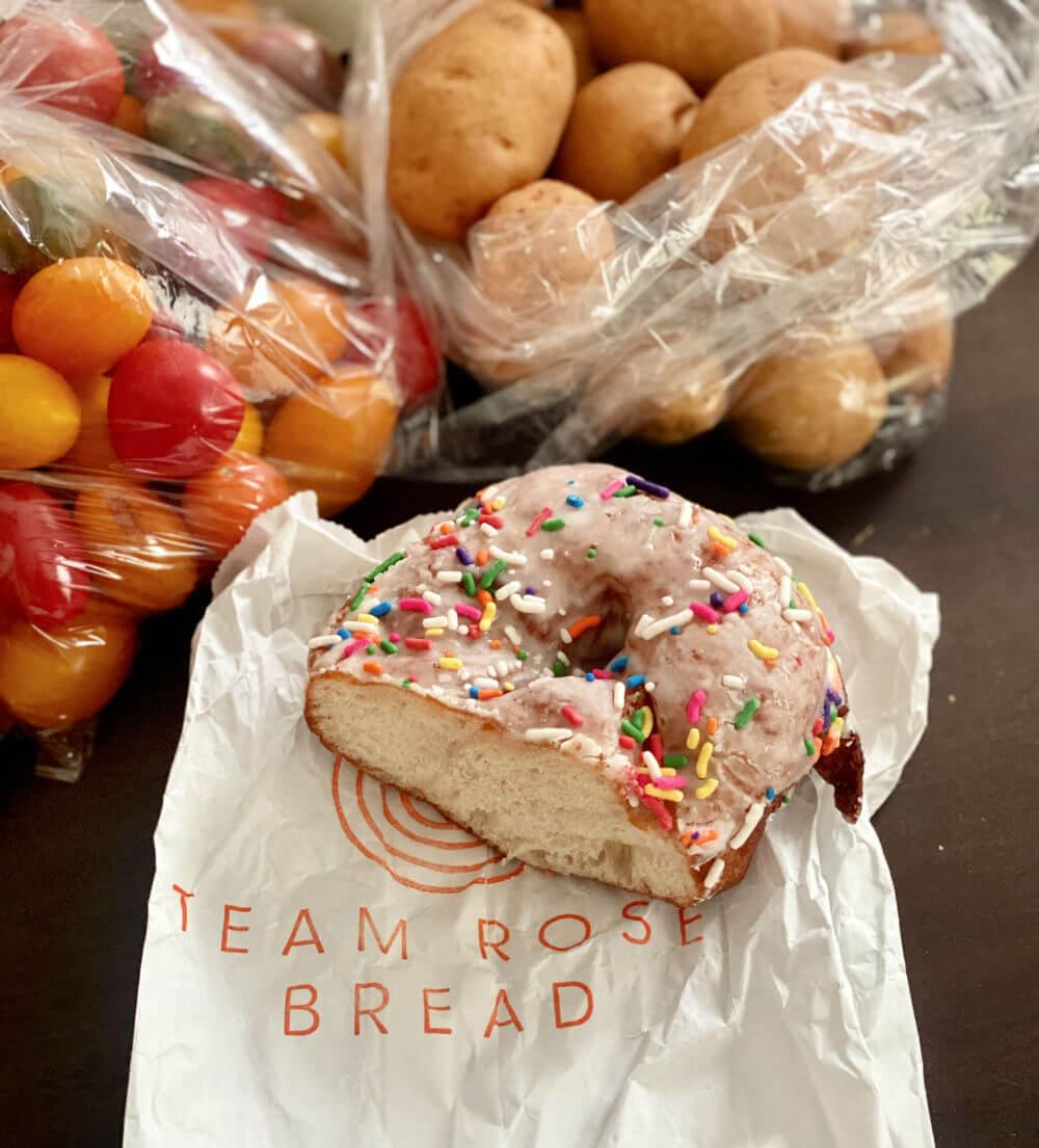 team rose bread
