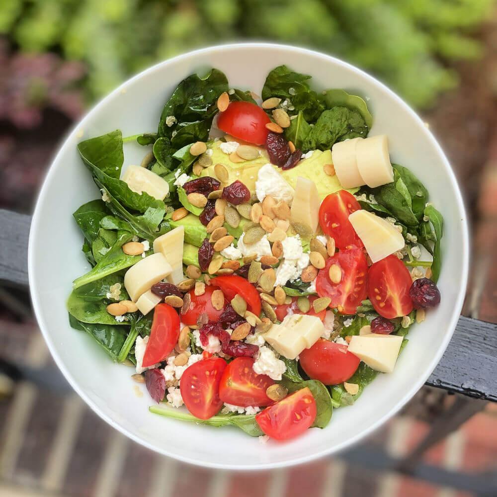 meatless salad ideas