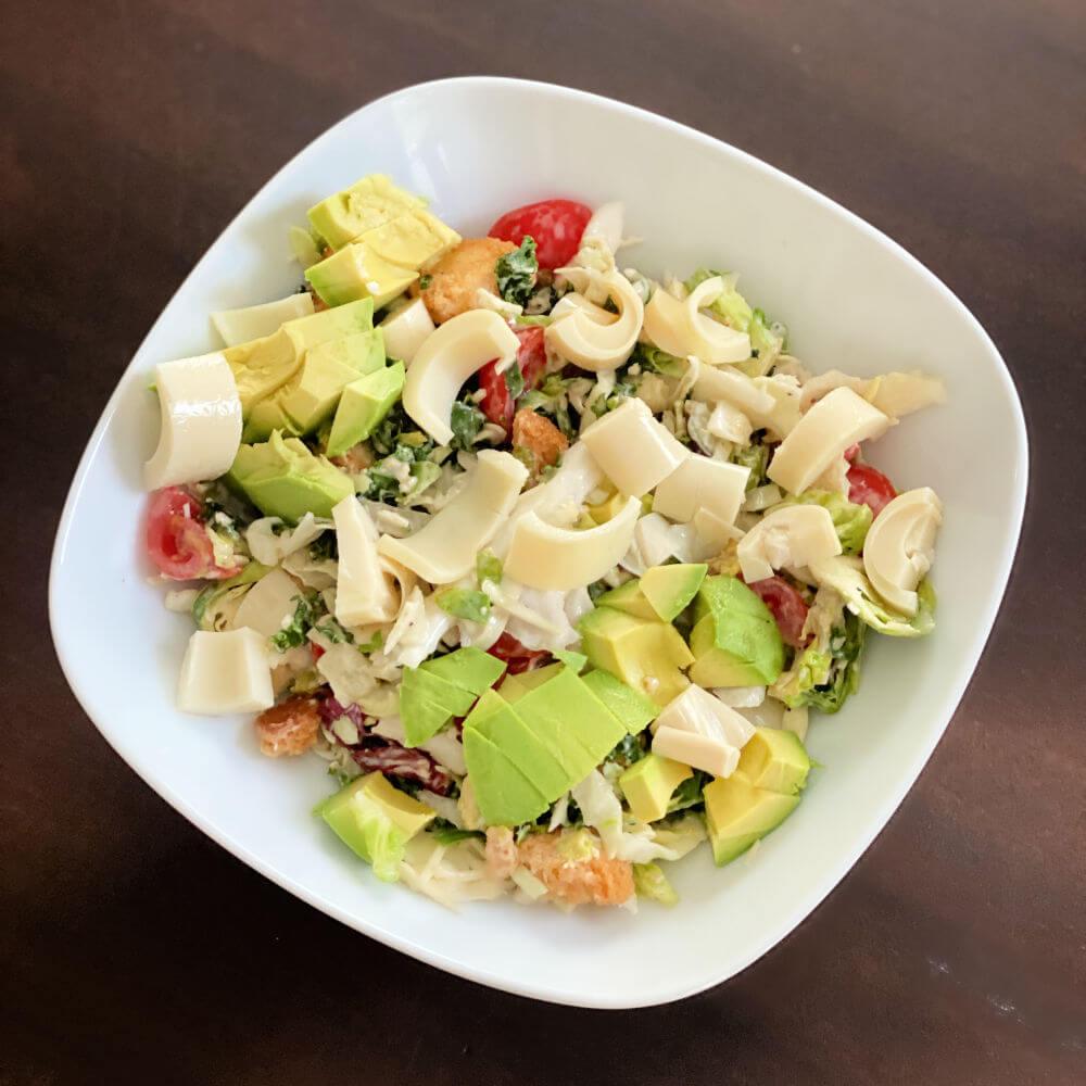 kale caesar chopped salad