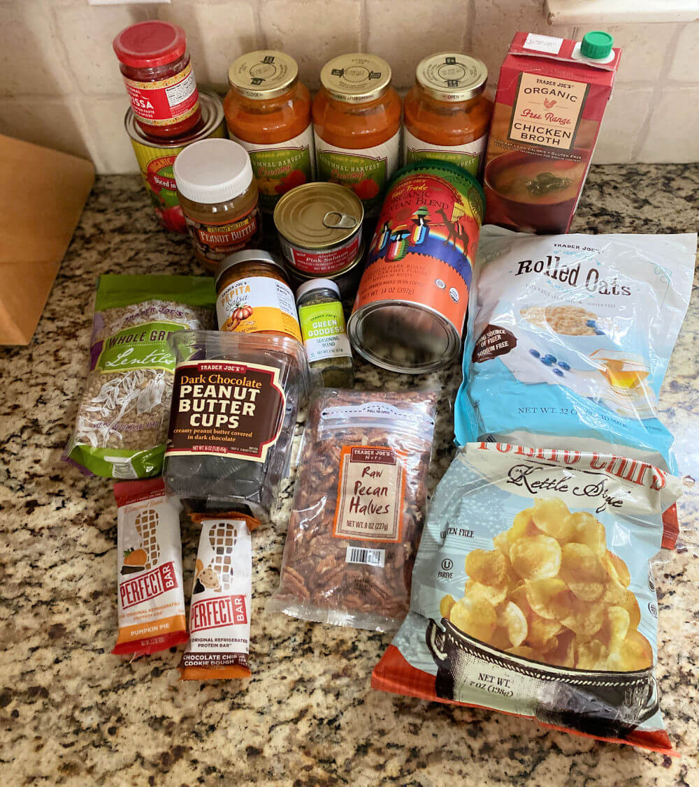 what I bought at trader joes
