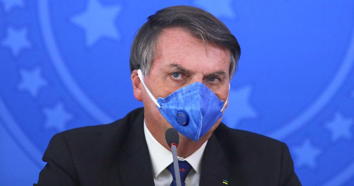 稱肺炎只是小感冒! 巴西總統「燒到37.7度」:篩檢為陽性 - 花生時報