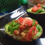 Rice Baked Avocadoes