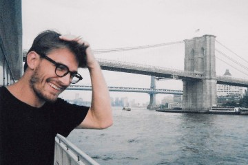 Jake Brainerd at Brooklyn Bridge