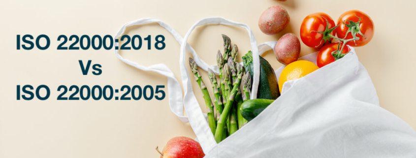 ISO 22000 2018 Vs 2005