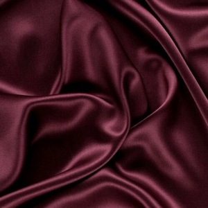 Burgundy Satin Swag