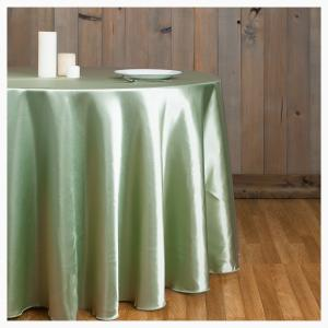 Sage Round tablecloth